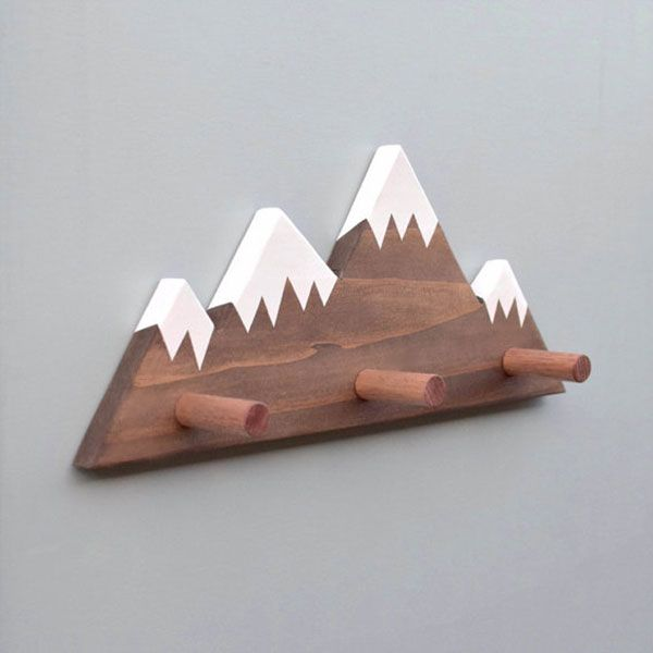 product image for Snowy Mountain Peak Wall Pegs