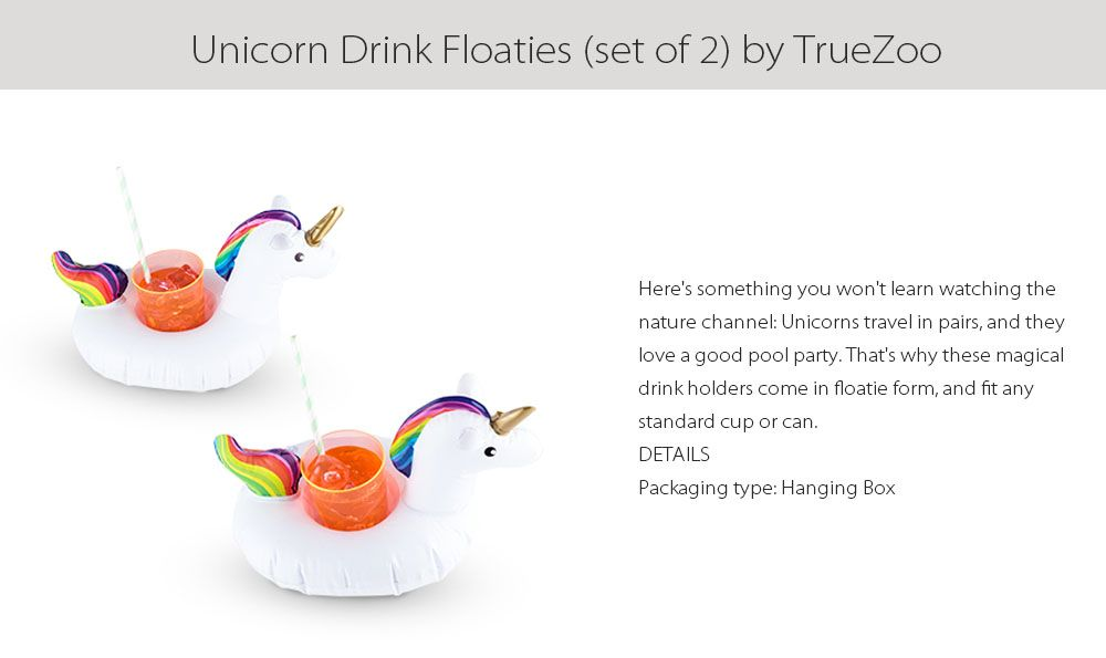 Unicorn Drink Floaties Set of 2