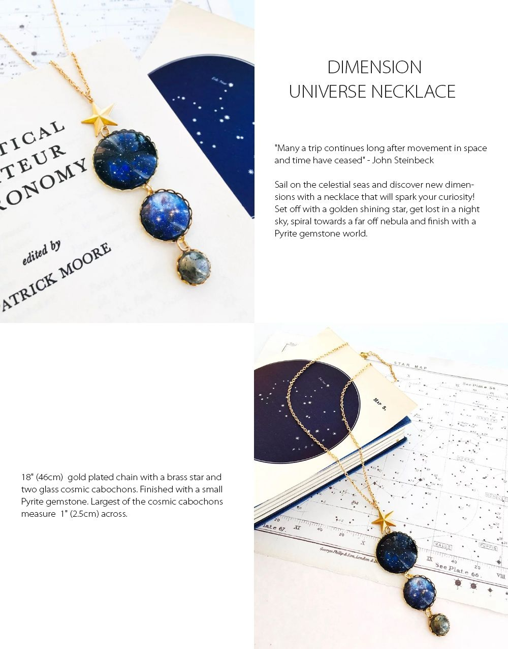 Universe Necklace Discover New Dimensions