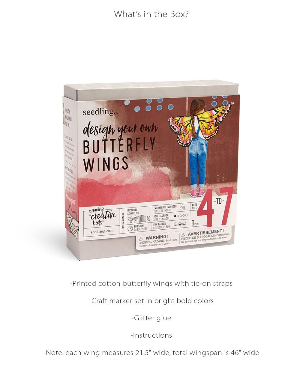 Design Your Own Butterfly Wings DIY Art Project