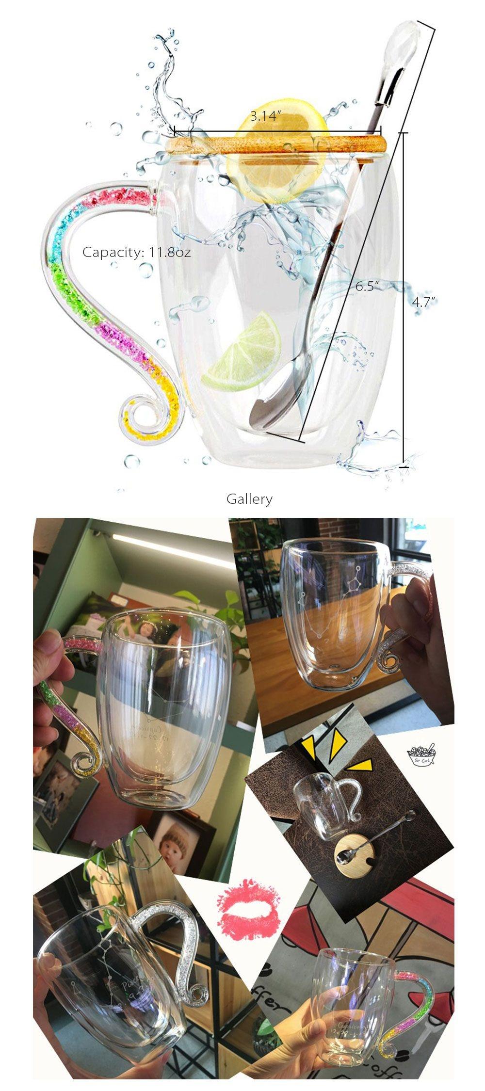 Constellation Coffee Mug Celestial Glass