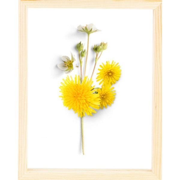 Product image for glass flower wall art