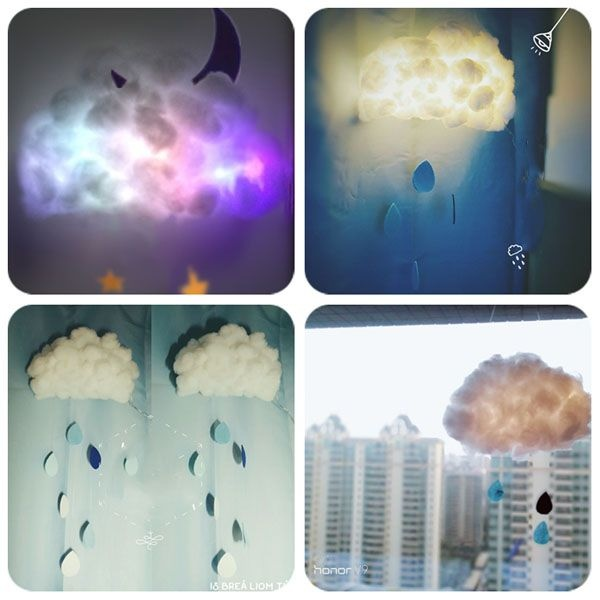 product thumbnail image for DIY Cloud Lamp Kit