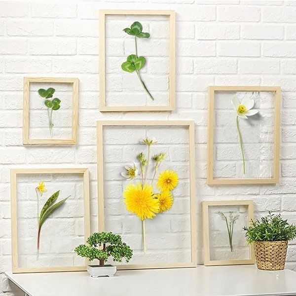 Glass Flower Wall Art - ApolloBox