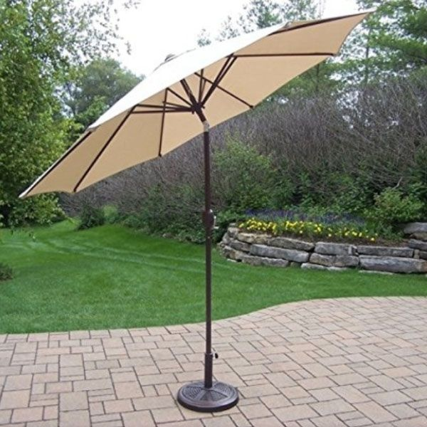 10 Ft Tilt Outdoor Umbrella