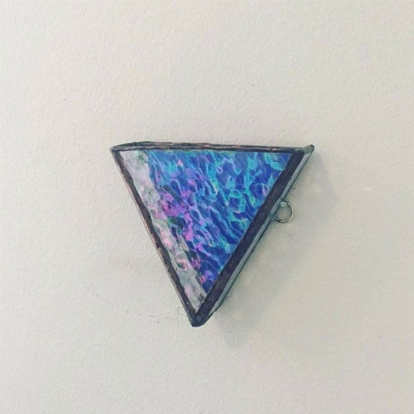 product thumbnail image for 3D Stained Glass Triangle