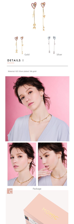 Arrow Long Earrings Unique Earrings