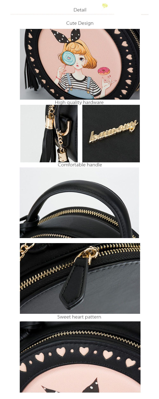Round Shoulder Bag Fashion and Unique Design