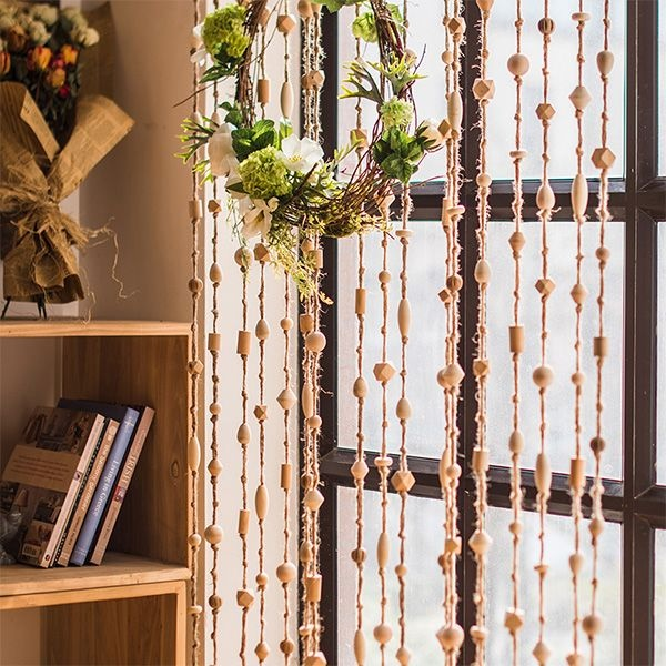 product image for Wood Bead Curtain