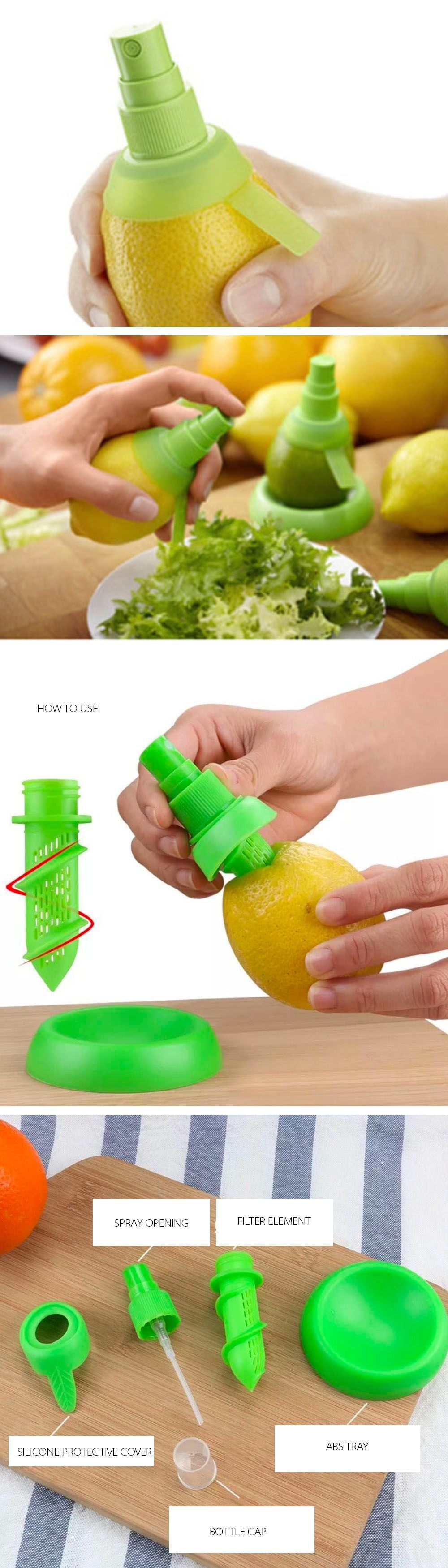 Lemon Spayer Easy To Use