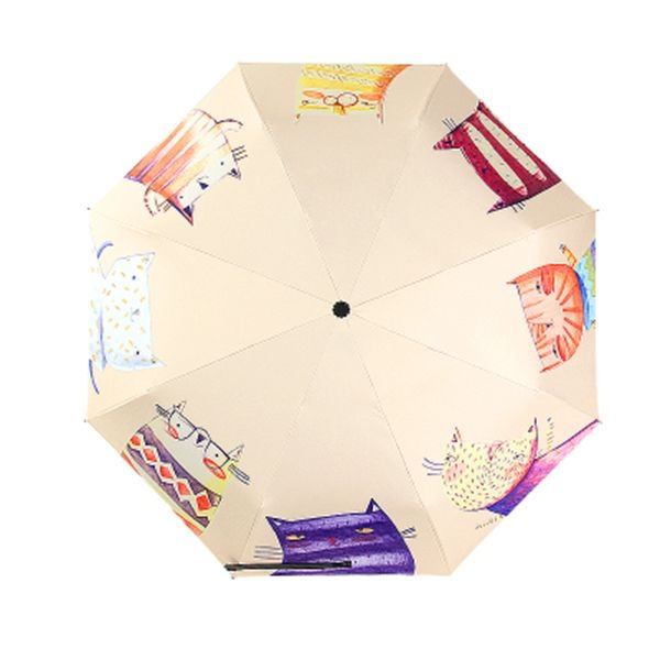 product image for Hand Painted Cat Parasol