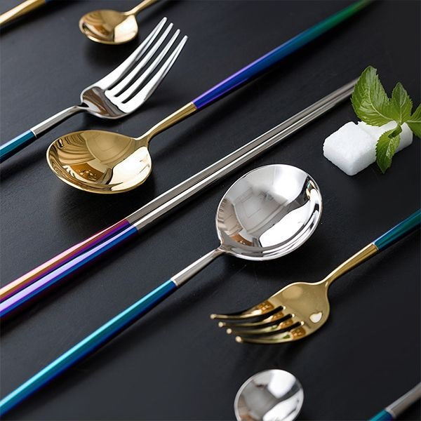 product image for Rainbow Flatware Set
