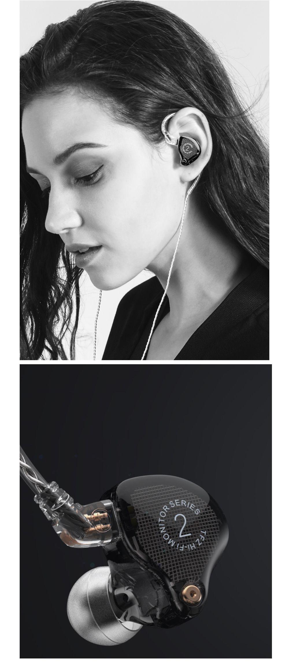 TFZ S2 HIFI In-Ear-Monitor Earphones Monitor Earbuds