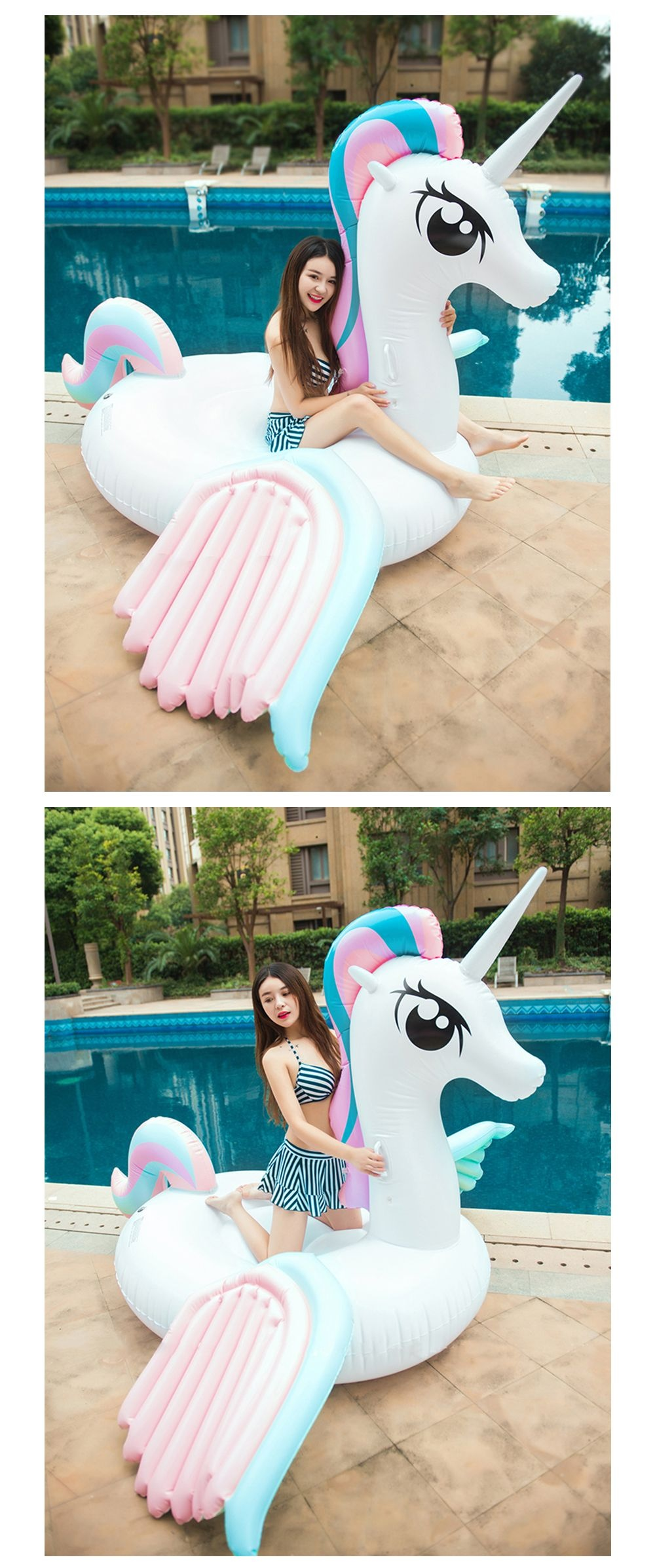Giant Inflatable Unicorn A Magical Pool Lounger