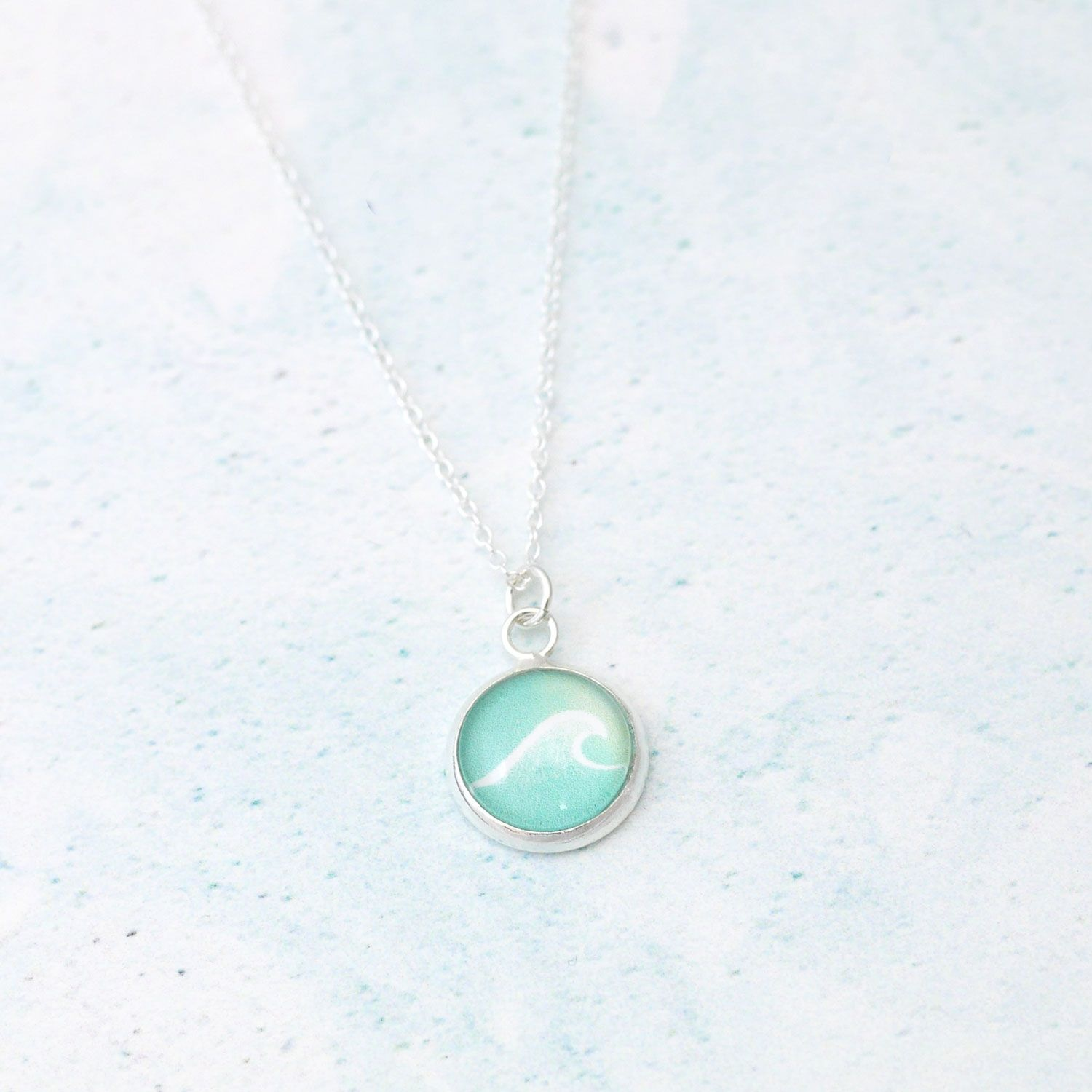 product thumbnail image for Ocean Wave Necklace