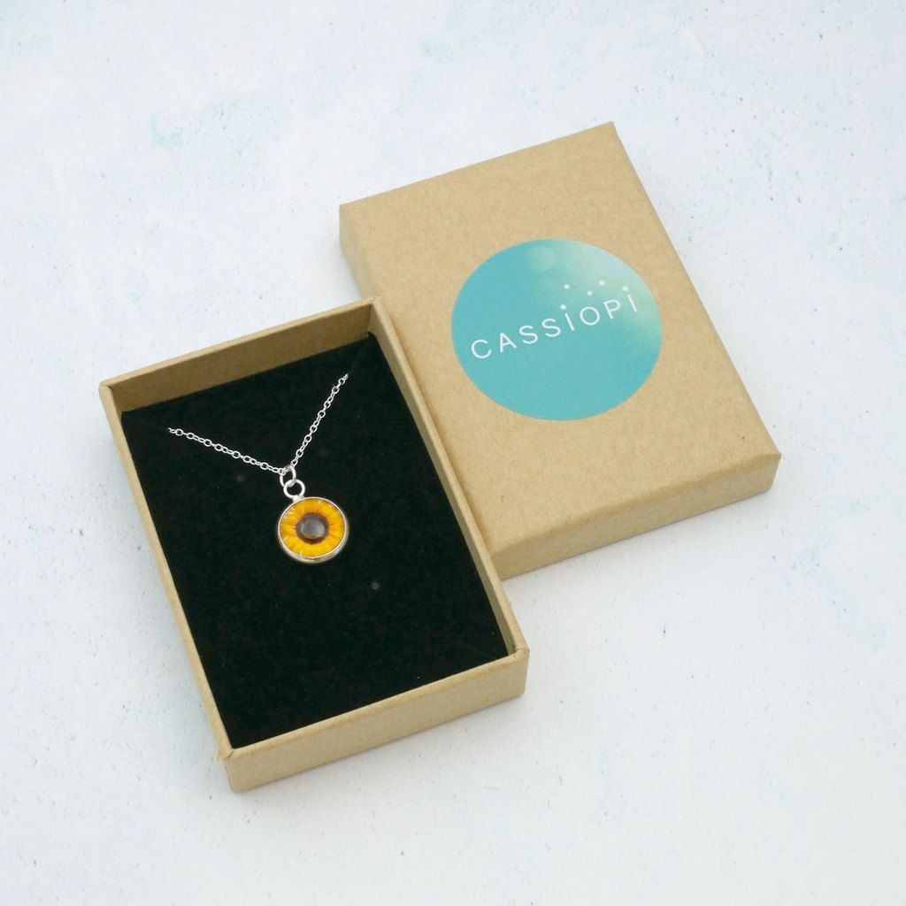 product image for Tiny Sunflower Necklace