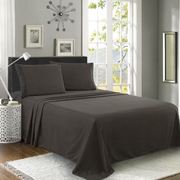 product image for Luxe Manor 4pc Bedding Set
