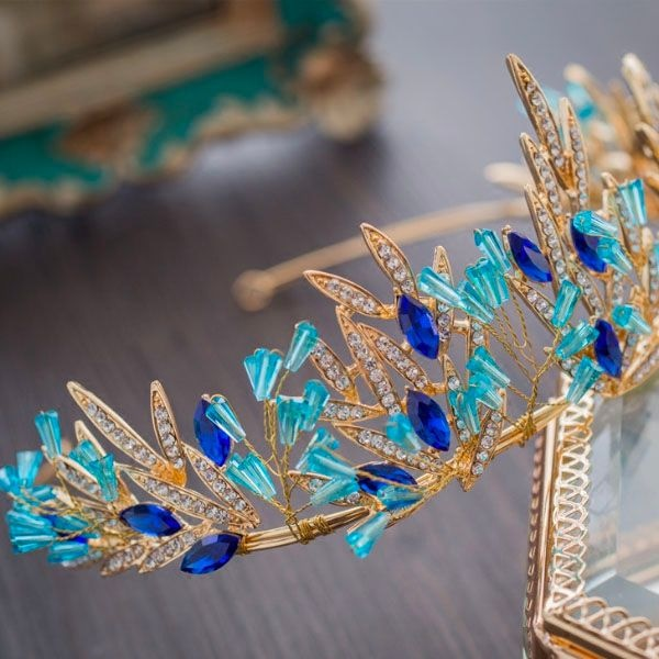 Blue Tiara Crown