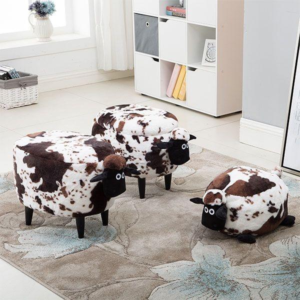 product image for Shaggy Sheep Storage Stool