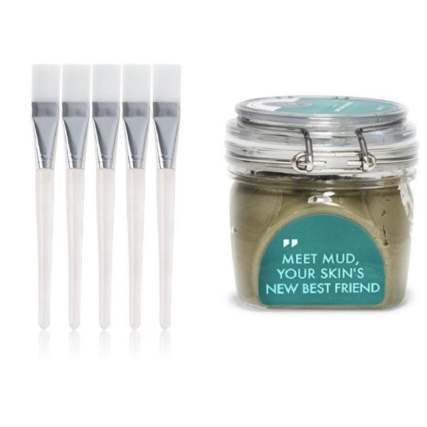 product thumbnail image for Dead Sea Mud Mask + Applicator Brushes