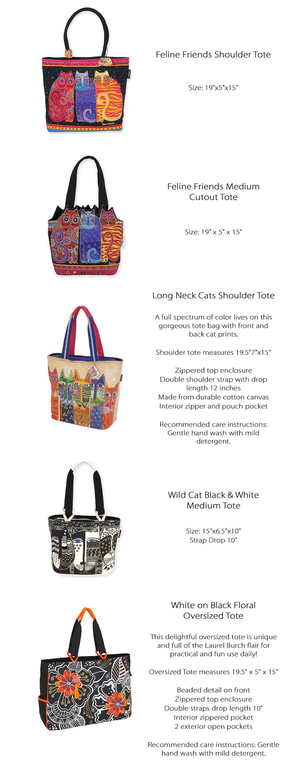 Shoulder Tote Cat Lover's Gift