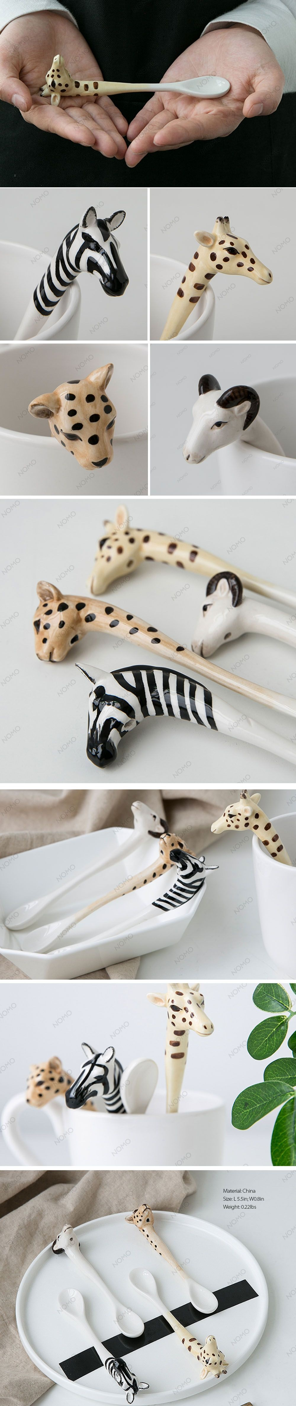 Nordic Animal Spoon Set Nordic Style