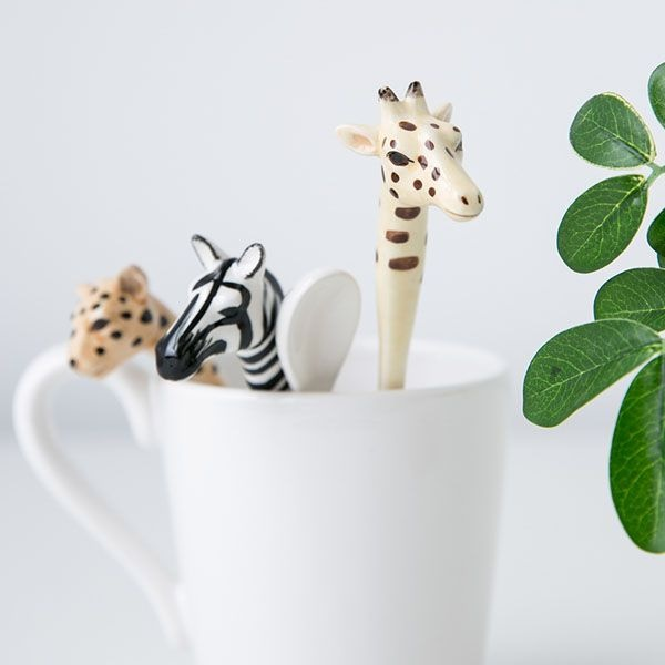 product image for Wild Animals Spoon Set