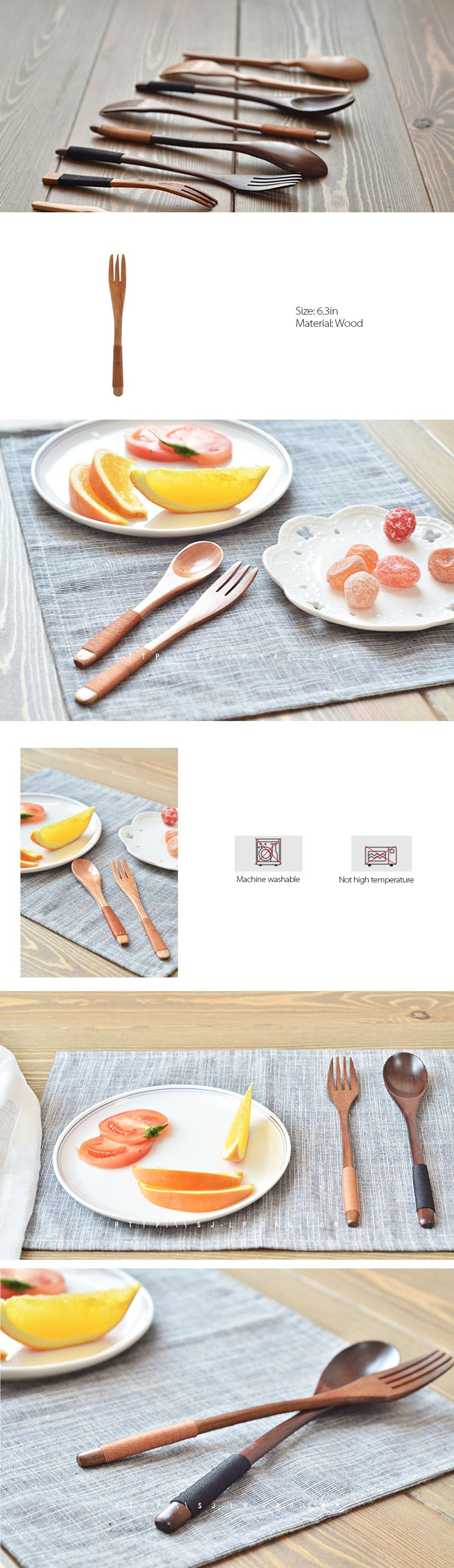 Wooden Spoon Set Wood Collection