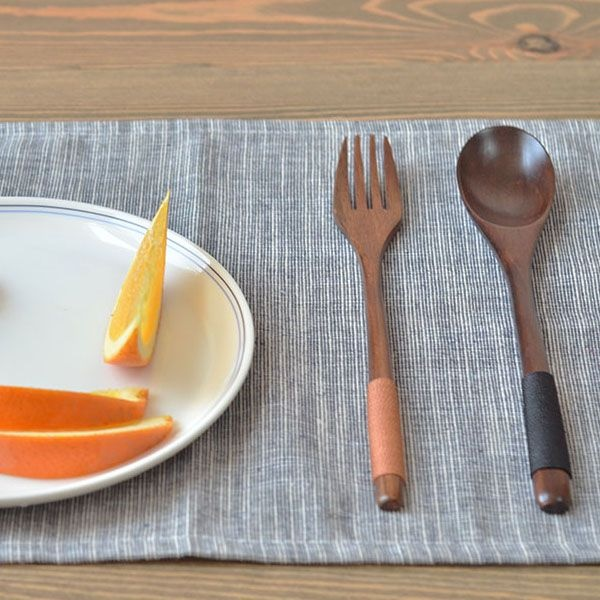 product image for Wooden Spoon & Fork Set