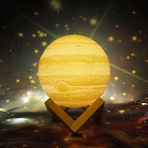 3D Printed Jupiter Lamp