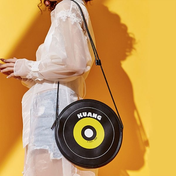 Retro CD Shoulder Bag