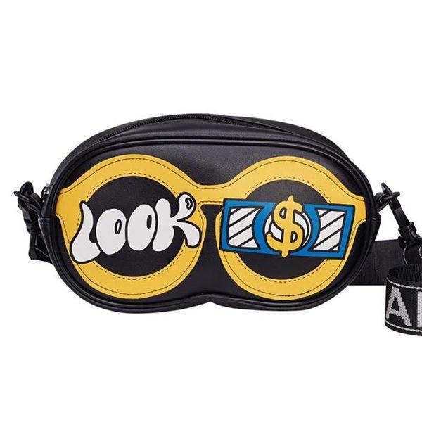 product image for Graffiti Glasses Shoulder Bag