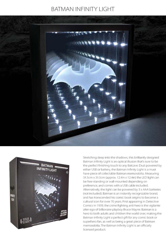 Batman Infinity Light  Bedside Lighting