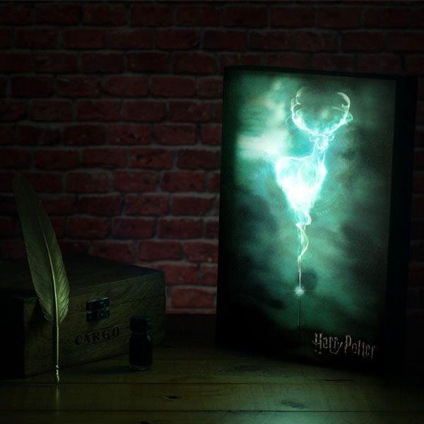 Harry Potter Patronus Illuminating Artwork