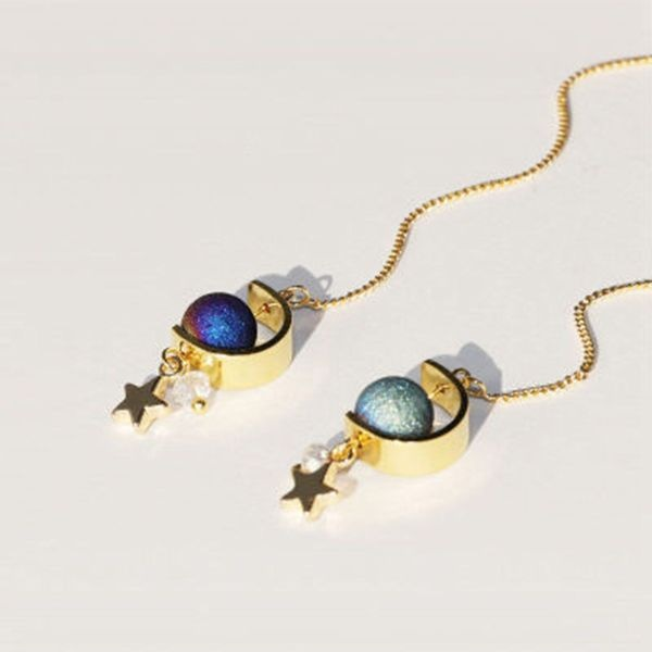 Galaxy Drop Earrings
