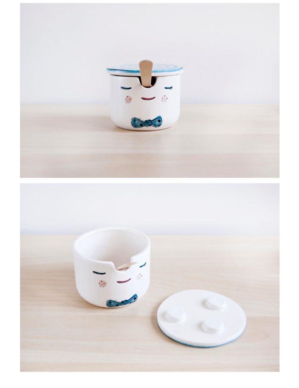 Pinocchio Sugar Bowl  Pottery Sugar Bowl