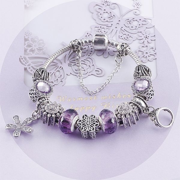 product image for Colorful Crystal Beads Bracelet