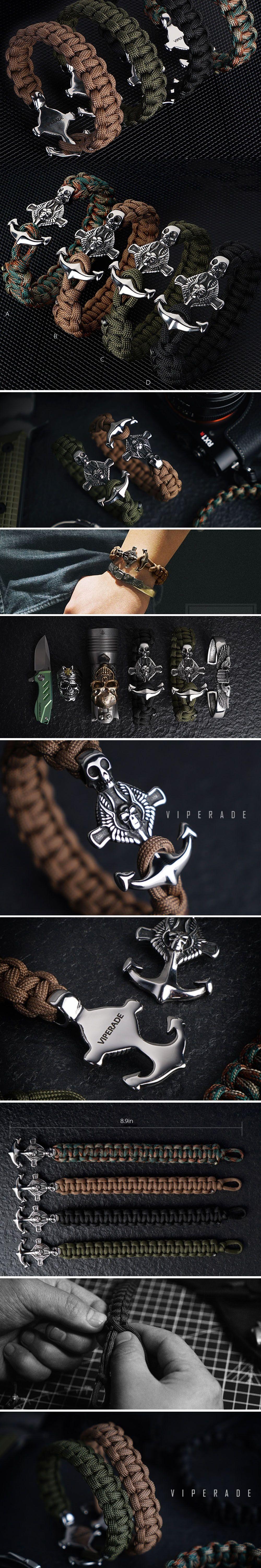 Viperade Multifunctional Outdoor Anchor Survival Bracelet Survival Collection