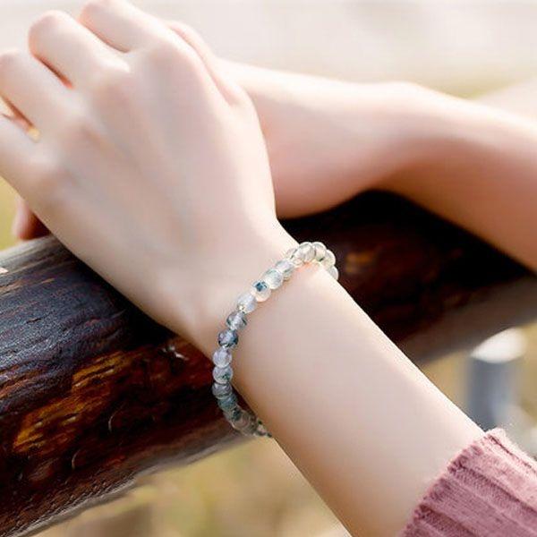 product image for Agate Obsidian Quartz Bracelet