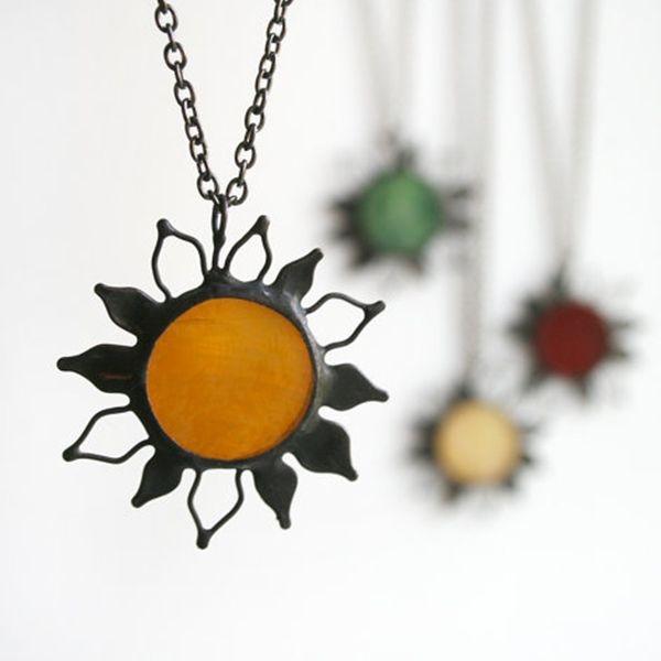Autumn Sun Necklace