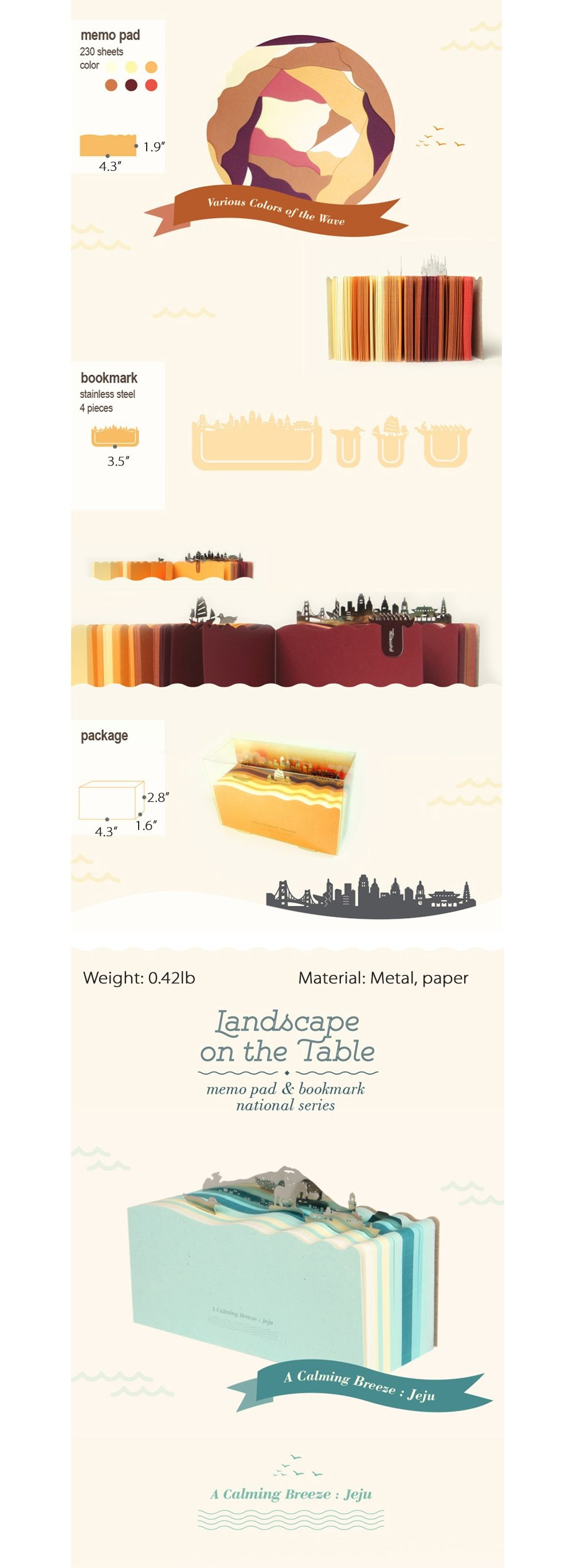 Landscape Post-it Office Supply