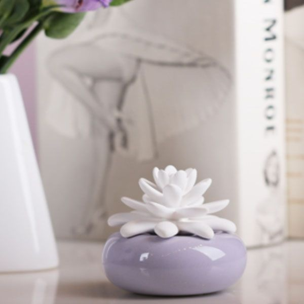 product image for White Lotus Porcelain Diffuser