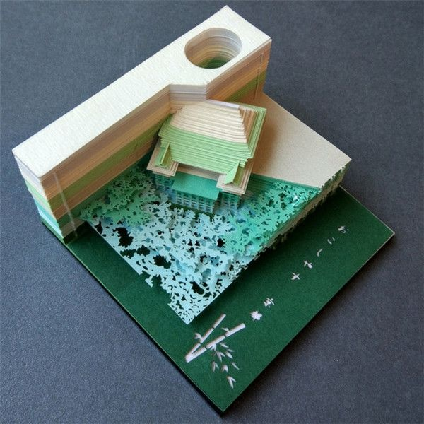 product image for Omoshiroi Architectural Block Note Pad