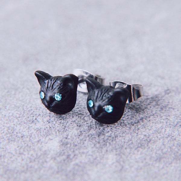 product image for Black Cat Earrings