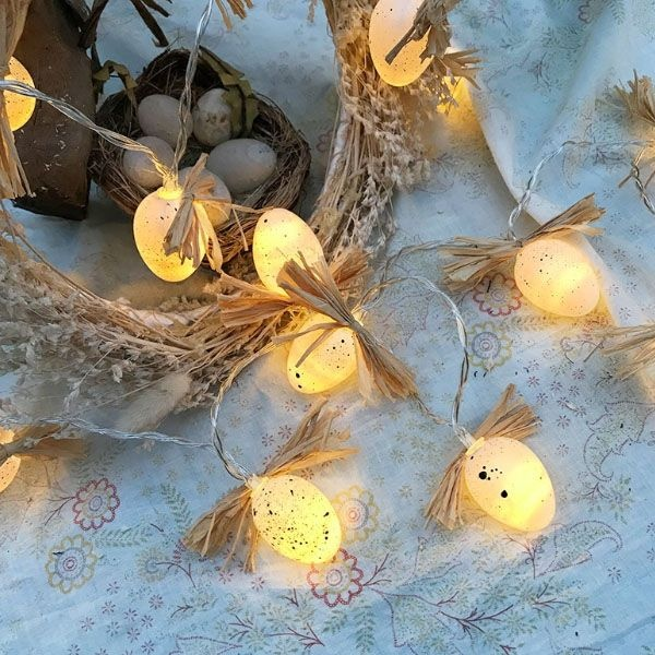 Egg String Lights