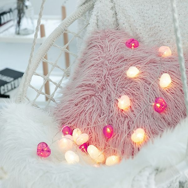 Love Heart-Shaped Light String