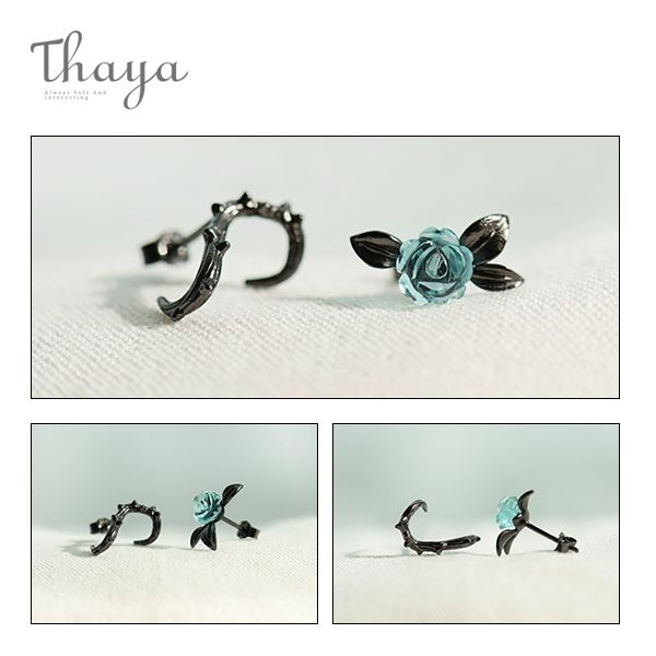 product image for Rose and Thorn Earrings