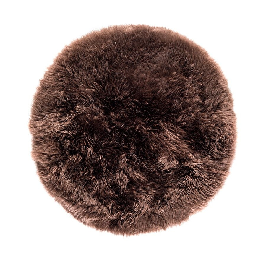 New Zealand Sheepskin Round Rug Apollobox