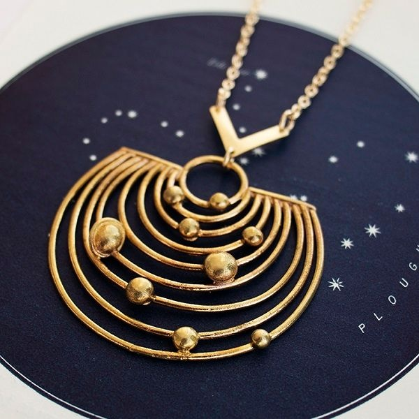 Pathways Solar System Necklace