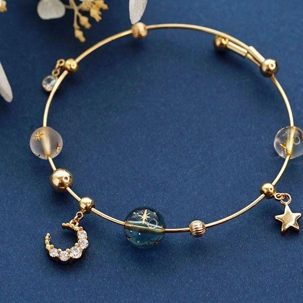 Galactic Moon Bracelet